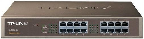 TP-LINK TL-SG1016D 16port gigabit switch