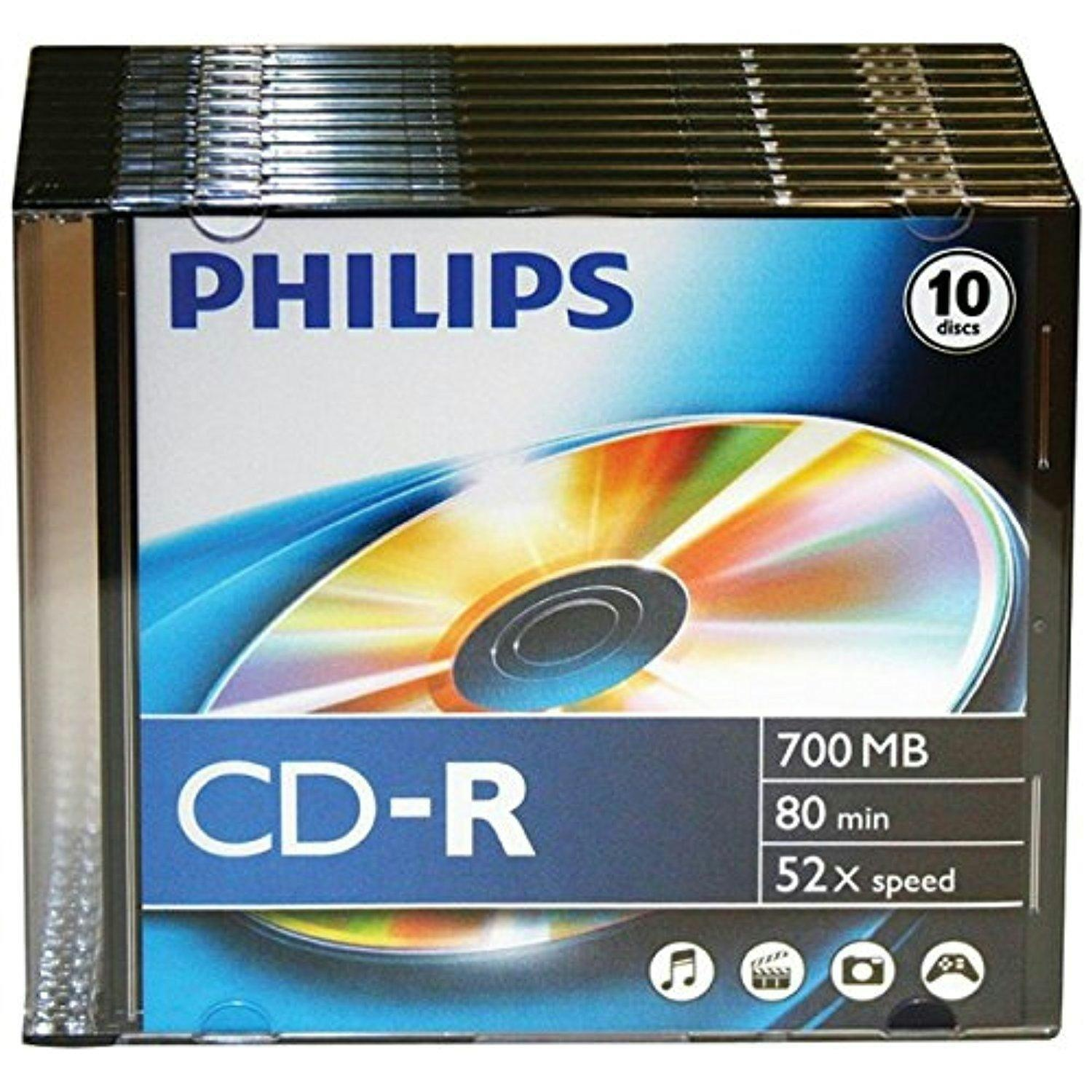 CD lemez Philips 80' R slim tokos