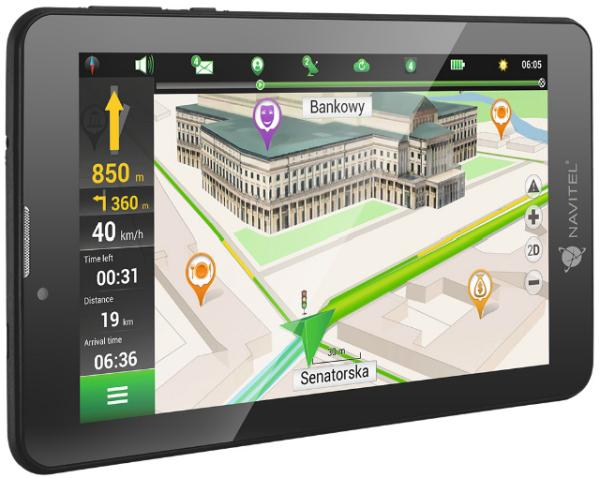 "Navitel T700 GPS és Tablet PC 7"" 3G"